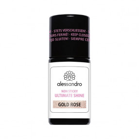alessandro Ultimate Shine Non Sticky Gold Rose 7,5 ml