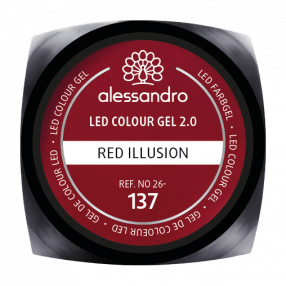 Colour Gel Red Illusion 5g