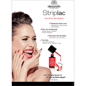 Striplac Peel - Off Poster A1
