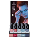 Nagellack Iced Fire Display  5-er