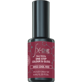 FX-One Colour & Gloss Miss Cool Red 6ml