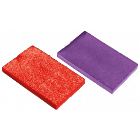 Buffer Pads Pack of 12 Red 80 grit