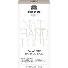 alessandro spa Balancing Hand Care Oil  14ml