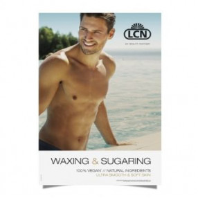 Poster Waxing & Sugaring Mann DIN A1