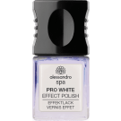 PRO WHITE NAIL EFFECT POLISH Tester  Coconut Oil Enriched