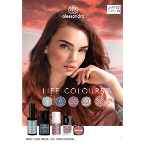 Life Colours POSTER DIN A1